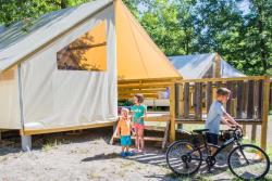 Rental - Tente Ecolodge 5 Persons - Camping Sites et Paysages LA SOURCE DU JABRON