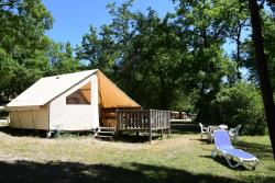 Location - Tente Ecolodge 5 Personnes - Sites et Paysages La Source du Jabron