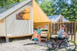 Alloggi - tenda ecolodge 5 persone - Camping Sites et Paysages LA SOURCE DU JABRON