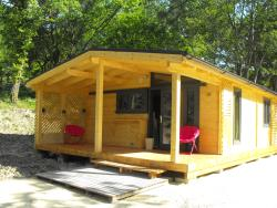 Rental - Chalet Confort 2 Bedrooms - Camping Sites et Paysages LA SOURCE DU JABRON