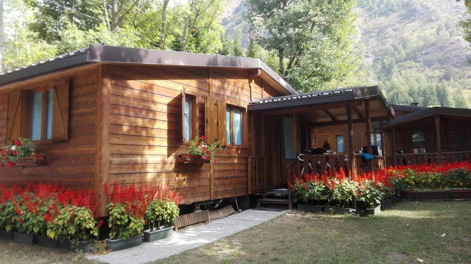 Accommodation - Chalet Mobil Home - Camping Valle Gesso