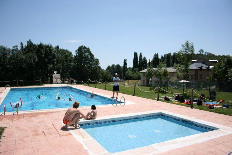 Mare, piscina Camping Laspaúles - Laspaúles