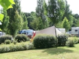 Pitch - Pitch For Hiker, Cyclist - Camping Le Vallon aux Merlettes