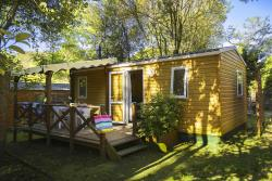 Huuraccommodatie - Cottage Domino 35M² (2 Kamers) - Camping Les Cascades