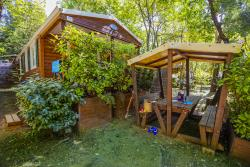 Huuraccommodatie - Cottage California 35M² (3 Kamers - Airconditioning) - Camping Les Cascades