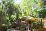 Rental - Cottage California 35M² (3 Bedrooms - Air-Conditioning) - Camping Les Cascades