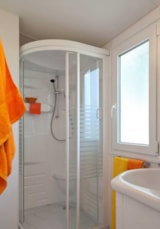 Rental - Mobile-home TEXAS 45 m² (3 bedrooms - Air-conditioning) - Camping Les Cascades