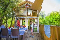 Huuraccommodatie - Lodge Air 41M² (2 Kamers) - Camping Les Cascades