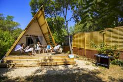 Huuraccommodatie - Lodge Victoria 59M² (2 Kamers) - Camping Les Cascades