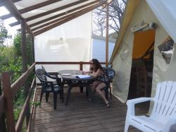 Tent Canadienne 25M² Confort 2 Bedrooms / Half-Covered Terrace