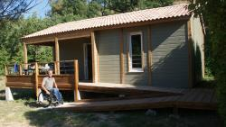 Chalet 35M² Confort+ 2 Bedrooms - Sheltered Terrace (Adapted To The People With Reduced Mobility)