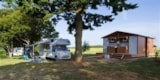 Pitch - Camping Pitch Grand Confort With Private Sanitary - Camping de la Liez