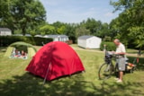 Pitch - Package: Pitch + car without electricity - Camping Les Ilots de St Val