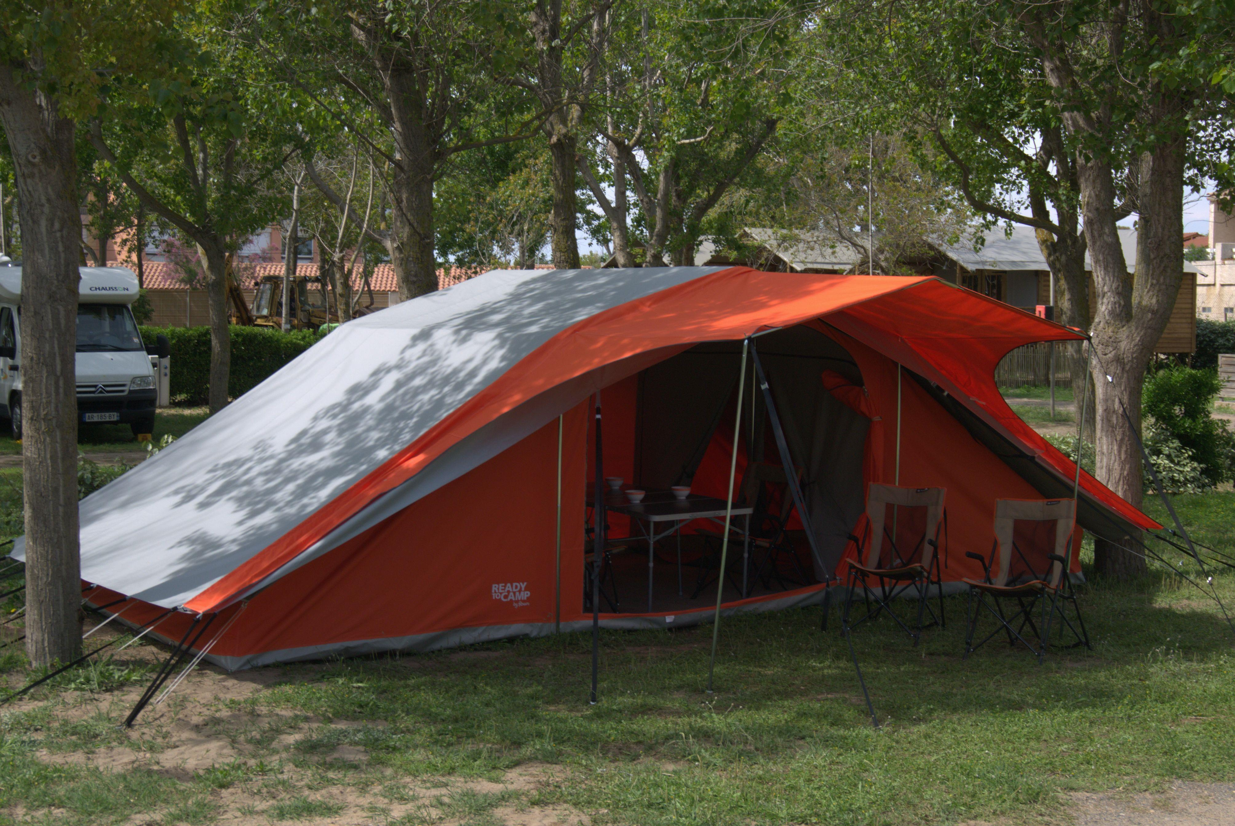 Emplacement - Forfait Ready To Camp - Flower Camping Le Bois d'Amour