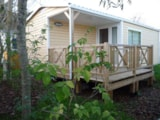 Rental - Cottage Luxe With Covered Terrace - Airotel Camping Au Soleil d'Oc