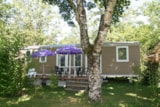 Rental - Cottage Family Prestige, 3 Rooms   With Tv Included - Airotel Camping Au Soleil d'Oc