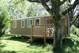 Rental - Cottage Loggia 3 chambres TV + Wifi - Airotel Camping Au Soleil d'Oc