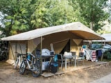 Rental - Tent 2 bedrooms** - Camping Sandaya Les Vagues