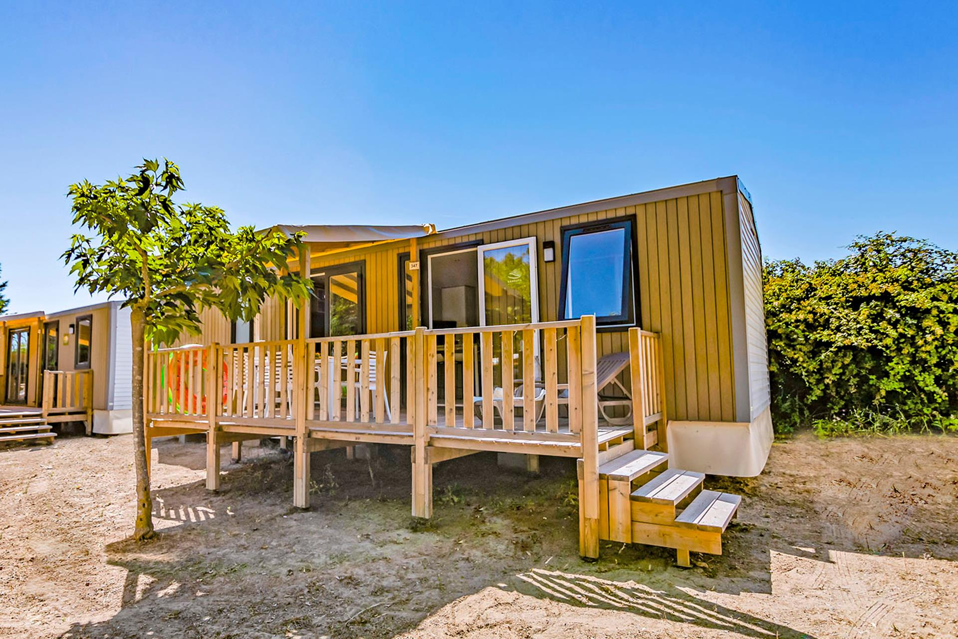 Location - Cottage 3 Chambres**** - Camping Sandaya Les Vagues