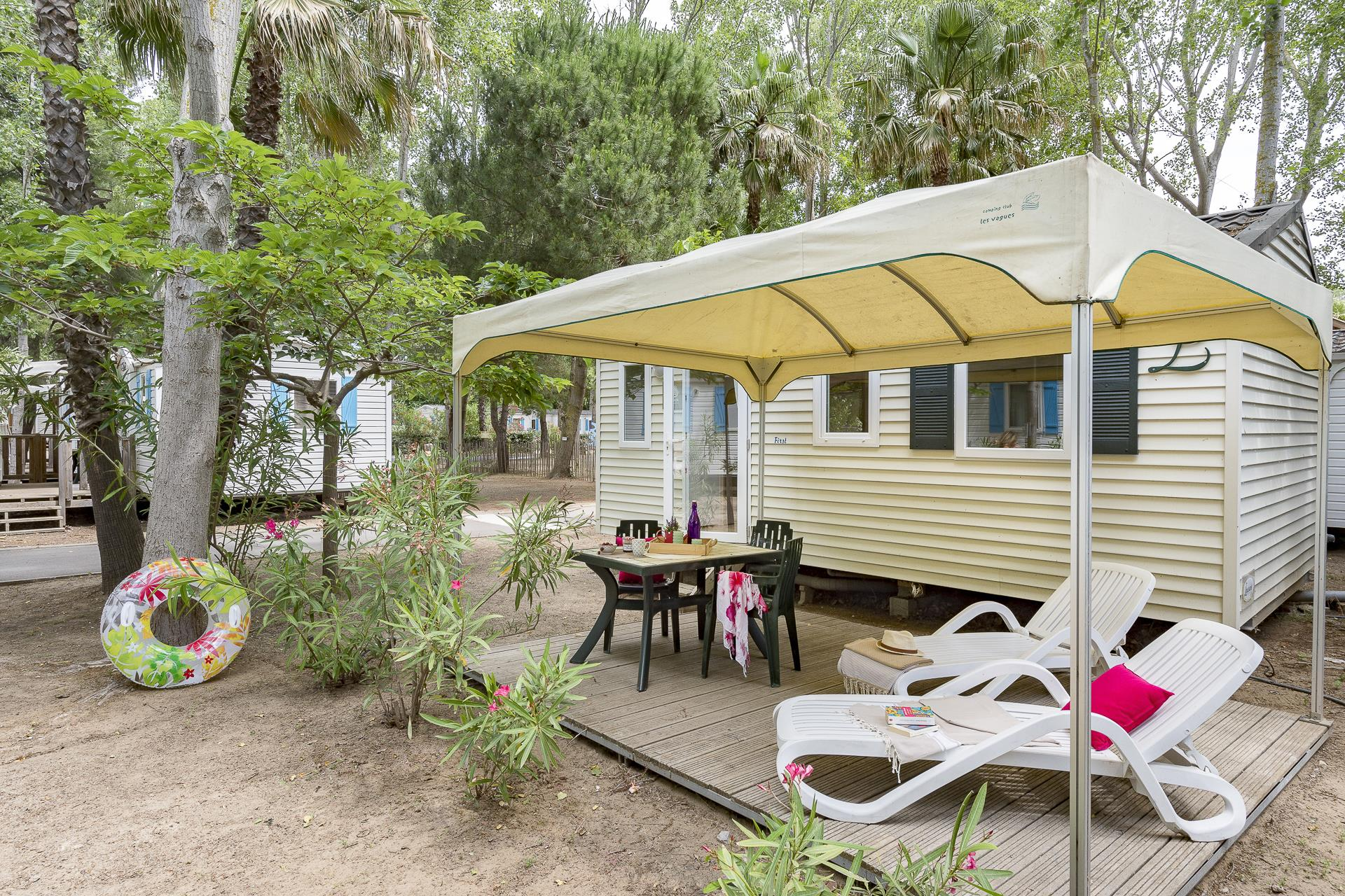 Location - Cottage 2 Chambres** - Camping Sandaya Les Vagues