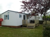 Rental - Mobil-Home O'hara 29M² - 2 Bedrooms - Camping Le Pont Rouge