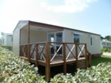 Rental - Mobil-home O'HARA 37m² - 3 bedrooms - Camping Le Pont Rouge