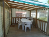 Rental - Mobil-home ATLAS 25m² - 2 bedrooms - Camping Le Pont Rouge