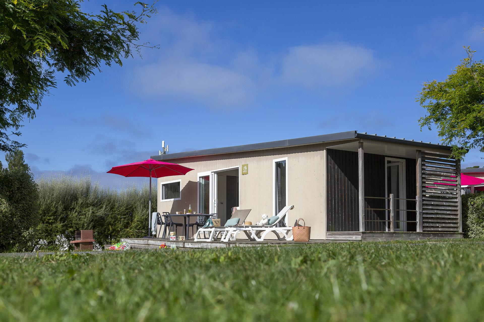 Location - Cottage Grand Large 2 Chambres Premium - Camping Sandaya Le Ranolien