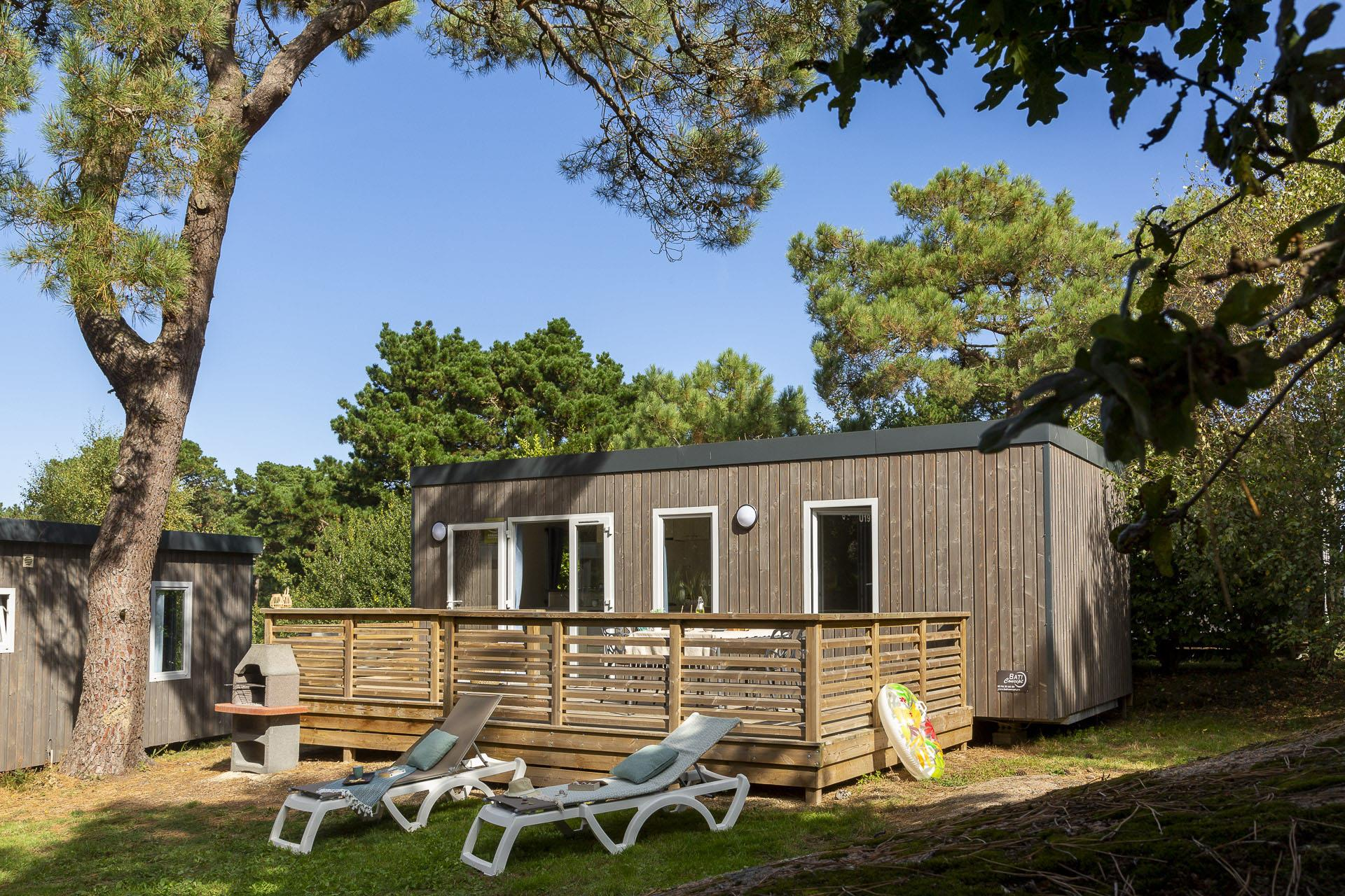 Location - Cottage Grand Large 1 Chambre Premium - Camping Sandaya Le Ranolien