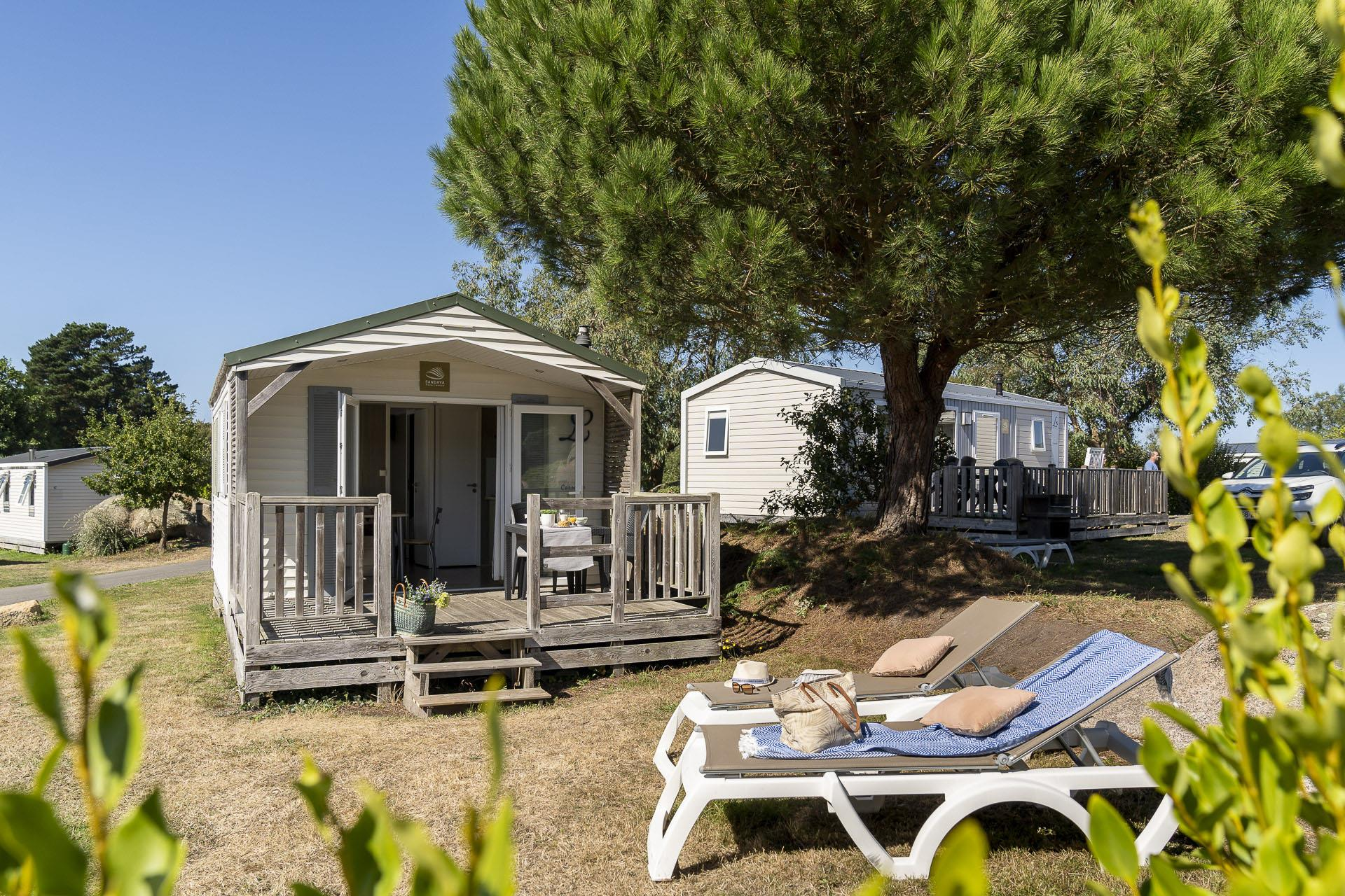 Location - Cottage 1 Chambre *** - Camping Sandaya Le Ranolien