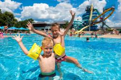 Family; 2 adults + 1 child up to 12 years + entrance for the pool