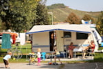 Piazzole - Family; 2 adults + 1 child -14 years old + entrance for the pool - Camping Terme Lendava