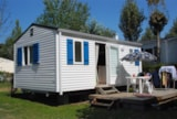 Rental - Mobil home BIKINI with TV - Camping Moulin de Kermaux