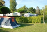 Pitch - Camping pitch  + Electricity - Camping Moulin de Kermaux