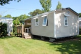 Rental - Chalet CONFORT + TV - Camping Moulin de Kermaux