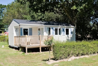 Mobile home 2 bedrooms - 1 bathroom - Wooden Decking