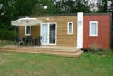 Rental - Mobil home cottage 2 bedrooms -1 bathroom -TV (French channels) - NEW VALLEY - Castel Château de Galinée