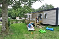 Mobil Home Cottage 2 Bedrooms -Bathroom With Shower -Covered Terrace