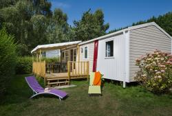 Mobile Home 4 Bedrooms - 1 Bathroom - Decking With Tv (French Channels)