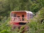 Rental - KEVELL® - 2 bedrooms - Decking - Camping Le Ty Nadan