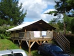 Rental - lodgetent 1 - 2 bedrooms - 1 shower room - 39m² + terrace 10 m² - Camping Le Ty Nadan