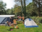 Pitch - Superior Confort pitch - Electricity 10 A - Water - Sewage connection 130m² - Camping Le Ty Nadan