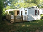 Rental - Mobile Home Fiji - 2 bedrooms - 1 bathroom- terrace - 21m² - Camping Le Ty Nadan