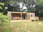 Rental - Mobilhome Glamping Key West 3 bedrooms - Camping Le Ty Nadan