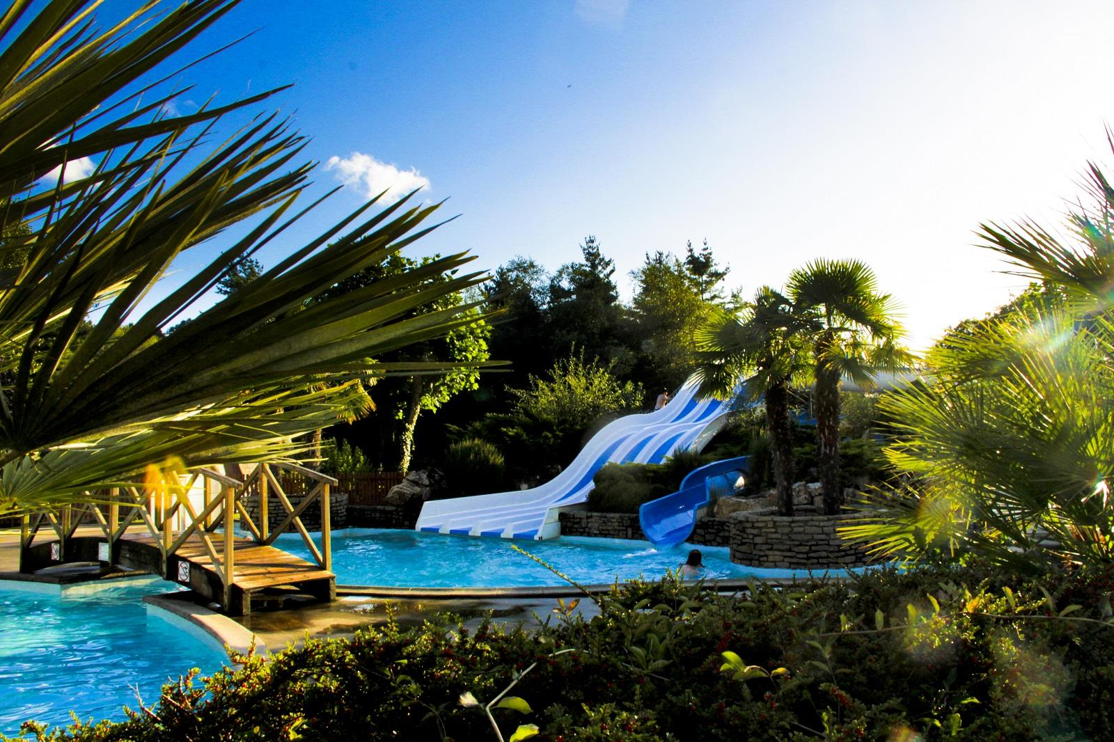 Zwemplezier Camping Le Ty Nadan - LOCUNOLE