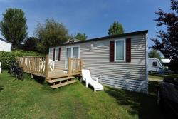 Mobile-home Familial + Private elevated terrace - 2 bedrooms
