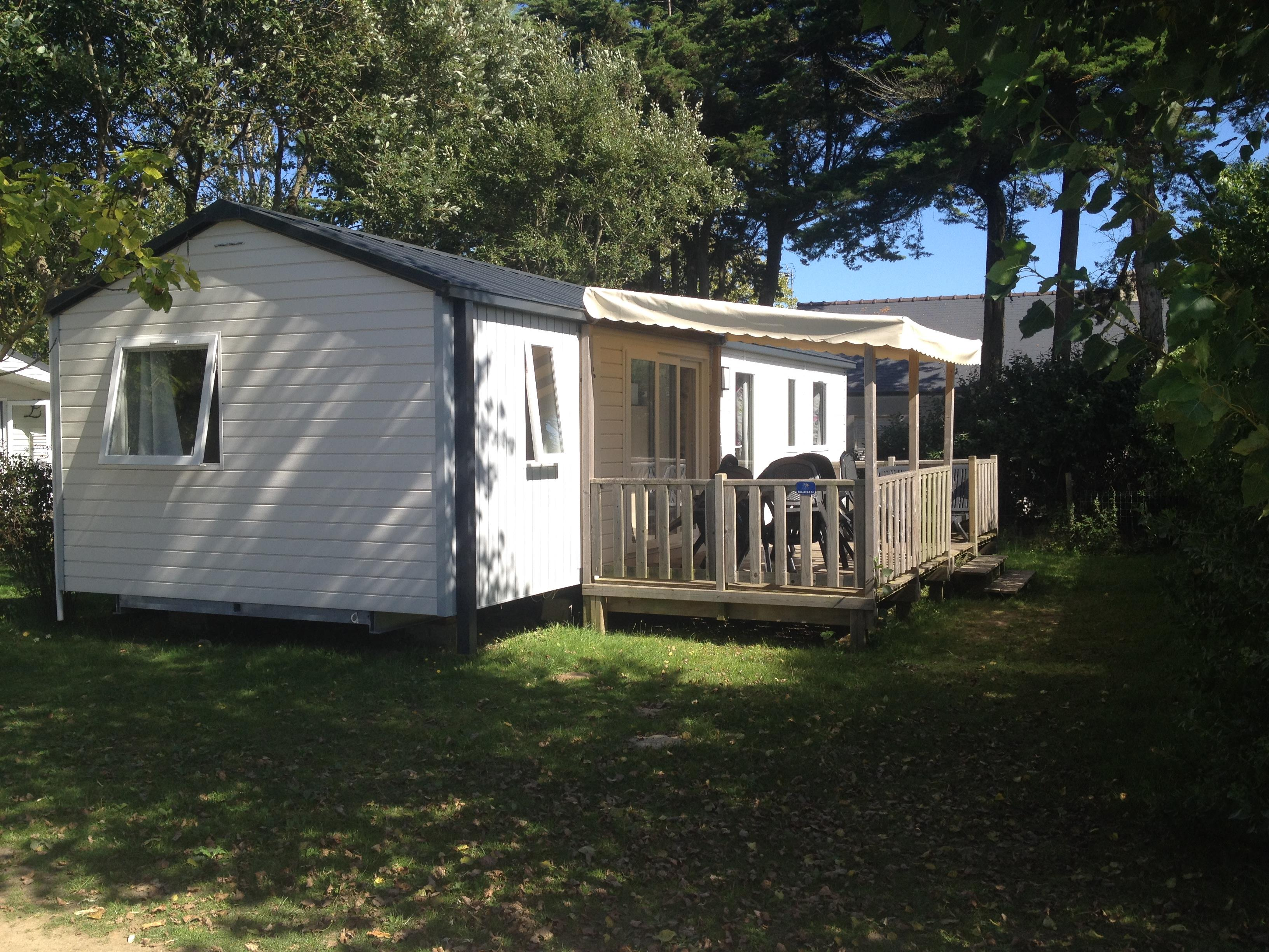 Location - Mobil-Home Baltique - 3 Chambres - Camping Les Iles
