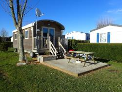 Location - Roulotte - Camping Les Hortensias