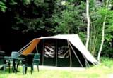 Rental - Fully equiped tent 1-4 persons with possibility to put a little tent and 2 persons extra with supplement - Camping La Croix Badeau