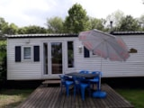 Rental - Mobilhome Willerby Cottage 1-4 Persons 2 Bedrooms And A Living Area - Camping La Croix Badeau